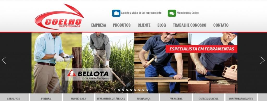 Site Coelho Distribuidor