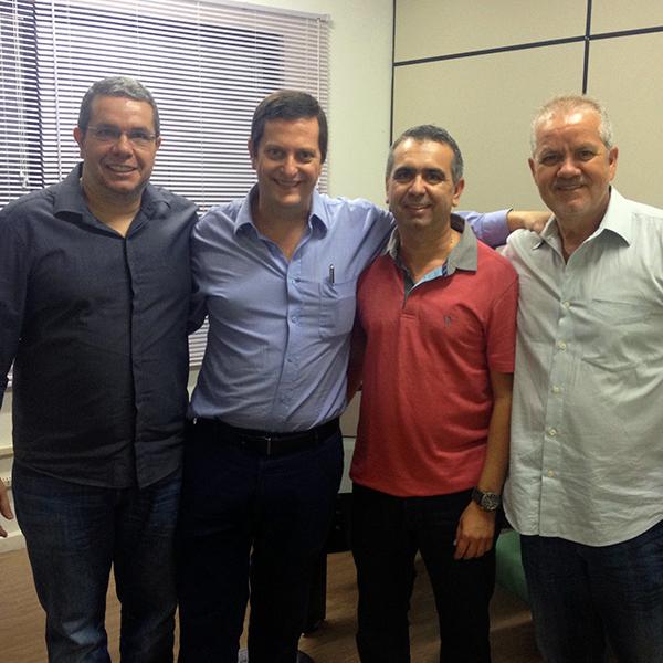 Visita Grupo Perlex na Coelho Distribuidor